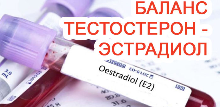 Баланс Тестостерон-Эстрадиол